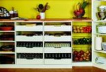 It all Happens in the Kitchen / A well-organized pantry can hold an amazing amount of things, making it easier to get dinner on the table, pack school lunches, make out a grocery list and save money by buying in bulk. Having custom-designed storage solutions to accommodate everything you need to store in your pantry will maximize the space and keep daily-use items close at hand, with seldom-use items out of the way but available when needed. Learn more at http://www.tailoredliving.com/home-organization/.