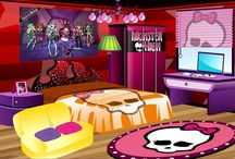 monster high room / by Sarah Azzopardi