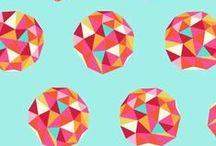 Fabrics I Love / fabrics textiles geometric designs / by Kellijean Press