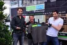 Property Brothers at Home / Tailored Living helps install custom garage cabinets and garage flooring for Drew and Jonathan Scott's new home in Las Vegas!