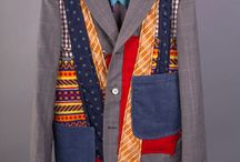 A Upcycled men's clothes / Men's clothing upcycled into new fashions or something else entirely