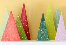 Winter / Winter season easy crafts , simple decorating ideas and lots of outdoor elements to create a rustic Christmas feel.