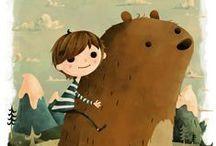 Illustration: Children / Illustration for children / by Spunky Fluff