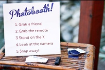 Photobooth Ideas / Photobooth props, back drops, stands, signs for parties and weddings / by Gabrielle Orcutt Photography