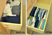 Organization / I function better when everything is in its place and I can quickly and easily find it. *Enter OCD*