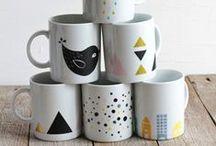 Tazas & mugs / by Victoria Pichel