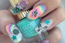 Manicure/Pedicure / Simply sweet to elaborately awesome manicure and pedicure nail polish creations.