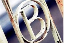"""{INSPIRATION} The Letter """"B"""" / The Letter """"B"""" Typography & Inspiration / by Belle & Bunty"""