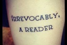 Librarian Ink / Tattoos of a library or literary nature. / by Suzi Holler