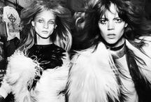 {FASHION} Rock & Hair Rollers / Rock n roll fashion inspiration / by Belle & Bunty
