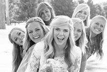 Wedding - Bride & Bridesmaids / Well styled images of the bride and all her details and fun shots with her ladies
