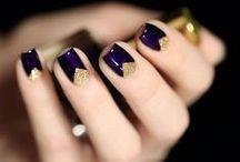 {BEAUTY} Nailed it / Nail Art ~ Manicures ~ Rings ~ Nail Varnish ~ Colourful Polish / by Belle & Bunty