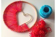 Crafts - Yarn/String/Twine / Crafts using yarn, string or twine