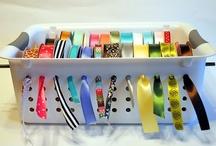 Crafts - Ribbon / Crafts using ribbon