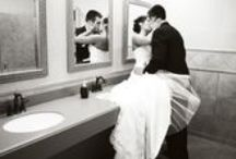 Wedding - bride & groom together / Posing, lighting and expressions for awesome wedding photos