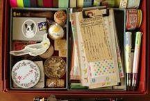 Office & crafts supplies / by Victoria Pichel