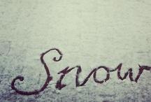 Snow  / by SNOA Luxury Sleepwear