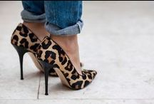 {FASHION} Leopard Love / Leopard and animal print fashion