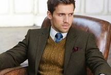 Man style  / Collection of stylish men and the clothes they wear. Portrait inspiration.