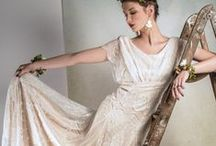 {BRIDAL} 2014 Collection ~ Belle & Bunty Bridal / Modern silk and lace vintage inspired Wedding dresses by Belle & Bunty. Made in London. 2014 Bridal Collection / by Belle & Bunty