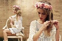 Flowers in her hair / All images with women wearing flowers in their hair.