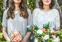 {BRIDAL} A Boho Wedding / Boho ~ Relaxed ~ Behemian Glamour ~ Flowers ~ Bridal & Wedding Inspiration by Belle & Bunty