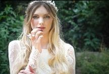 {BRIDAL} Fairytale Shoot / A magical fairytale themed photo shoot featuring Belle & Bunty bridal gowns and Clara Francis head wear.  ~ Woodland Styled Bridal Insipration. ~ www.belleandbunty.co.uk / by Belle & Bunty