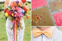 {BRIDAL} A Colourful Wedding / Bright & Colourful Wedding Day Inspiration by Belle & Bunty