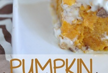 Fall Eats / Treats, desserts, entrees, and appetizers for fall. / by Kari Bristow