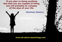 Psychology Quotes / by All About Psychology