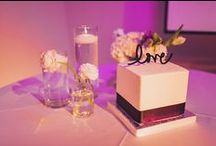 Cakes & Desserts [seven-degrees] / No event is complete without dessert!  We love elaborate cakes or cute candy bars. What's your favorite way to end the evening?