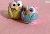 Polymer clay / #polymerclay #clay #polymerjewelry / by AnGeL JoHnTiNg BrOwN