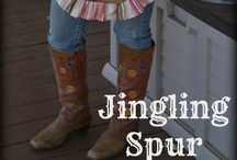 Jingling Spur (on Facebook) / The ORIGINAL Aprons Designed and Made by Tracie as seen on Miranda Lambert and many gals across the USA and in Canada. :)