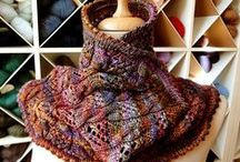 My knitted pieces / http://www.ravelry.com/projects/Ninocska
