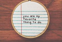 Cross stitch / by Sydney Finnelly