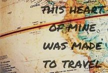 Traveling the world! / Places I've traveled to and places I WILL travel to. :D / by Kari Bristow