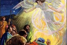 Angels and Icons / Giving messages and projection