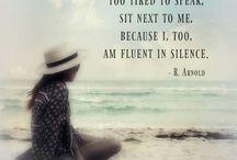 My Friend Silence