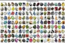 Gems+Rocks+Metals / jewelry, raw mineral samples, precious & semi precious gems, stones, rocks, metals and their various applications