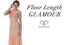 Floor Length GLAMOUR / Showcase your classy side by stunning in something long & GLAMOROUS