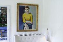 Stylish interors: wall art edition