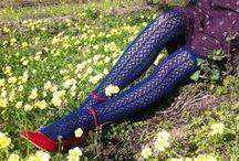 Tabbisocks Crochet Over the Knees / Crochet Over the Knees, Tights, and Crew Socks