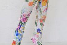 Tabbisocks Printed Tights & Pantyhose