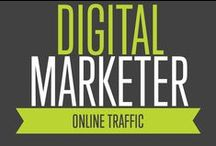 Online Traffic | Digital Marketer / We can help you Drive cheap, valuable Online Traffic through Facebook (the best paid traffic source), Google Adwords, Email Marketing and much more.