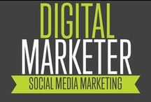 Social Media Marketing | Digital Marketer / Social Media Marketing is a great way to get organic traffic to your site, boost your popularity and generate leads!