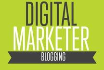 Blogging | Digital Marketer / We want you to be the best blogger you can be. If you want to know how to make money blogging, follow these internet marketing hacks from Digital Marketer!