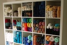 Craft Storage - Needlearts Rooms / Craft Storage Ideas (CSI) shares information, inspiration & products for crafting supply storage and organization. This board includes ideas for needlearts | needle arts (knitting, embroidery, crocheting, cross-stitch, needlepoint) rooms. Got great ideas for needlearts | needle arts rooms? Pin them & include #craftstorageideasblog and we might just show them off to our community of passionate crafters!