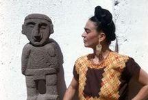 frida kahlo, mexico, dia de los muertos / by josée MM