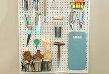Storage Ideas & Craft Spaces