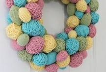 Easter Decor & Ideas / by Petals to Picots Crochet